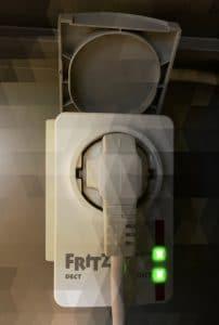 Fritz!DECT 200 Stromverbrauch Smarthome messen