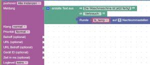 Mit pushover und ioBroker notifications versenden