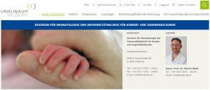 Neonatologie Salzburger Landesklinikum