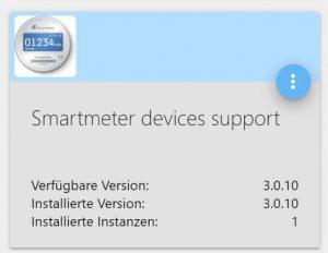 Smartmeter Adapter für ioBroker