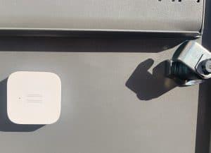 Briefkasten smart machen, mit Mija Vibrationssensor