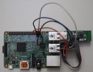 Wiring, Kabelverbindung Raspberry und CC2531