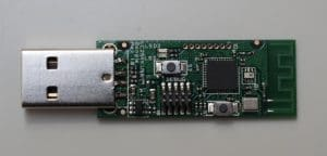 Ansicht CC2531 zigbee USB-Stick