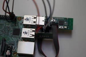 Detailansicht wiring Raspberry PI