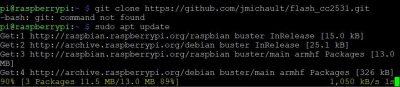 Flash CC2531 auf Raspberry pi installieren