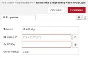 Schritt 3: Neue Bridge anlegen