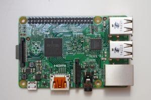 Raspberry PI mit GPIO für das Flashen des CC2531
