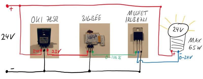 Anschlussplan für eigenes zigbeemodul