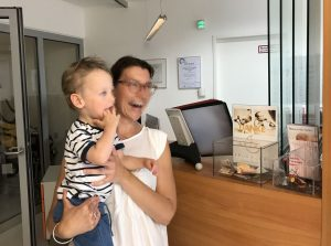 Übergabe Spende an Neonatologie SALK 2019
