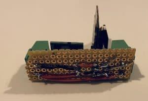 Verkabelung Testplatine für eigenes zigbee-Modul