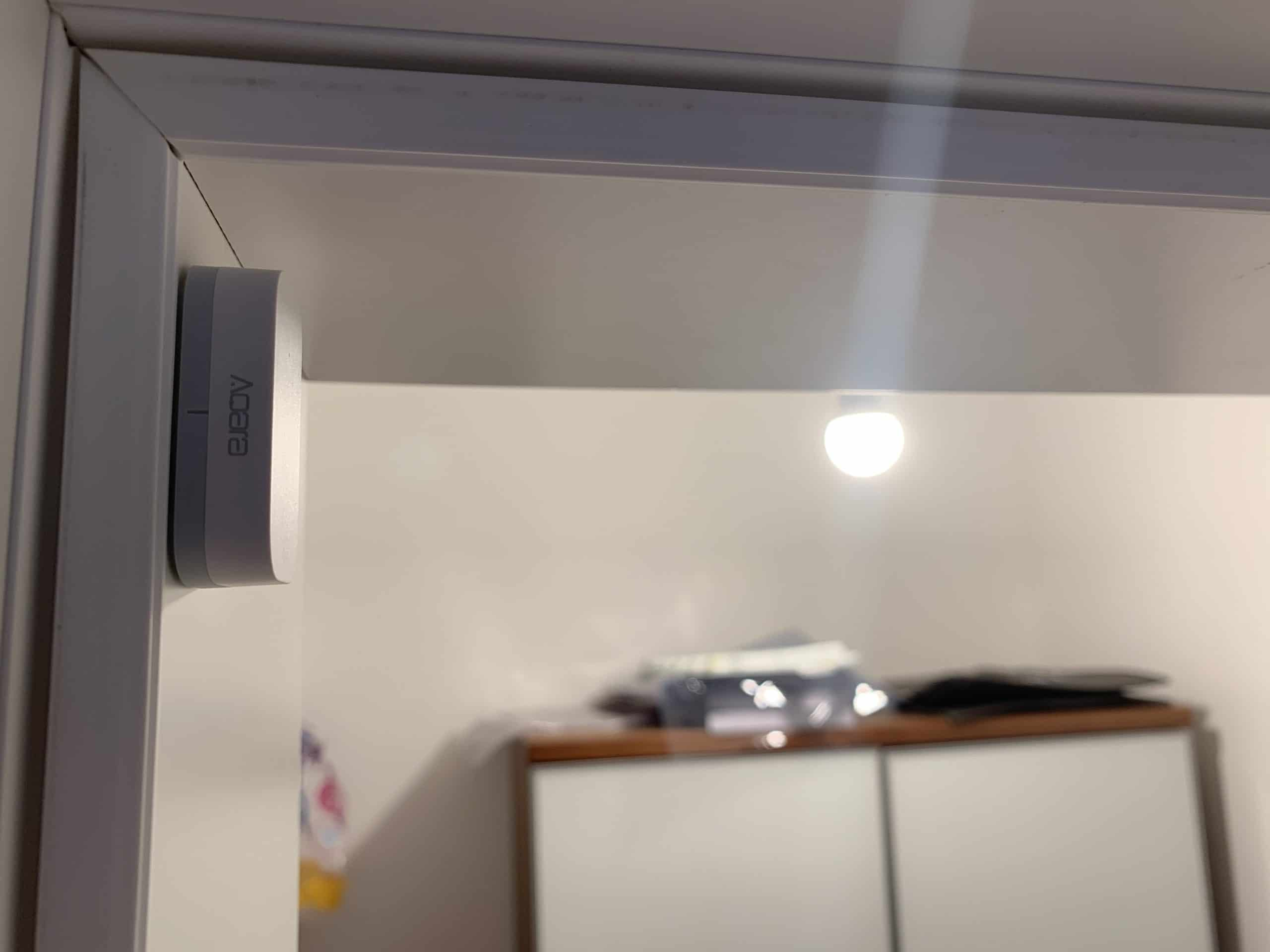 Xiaomi Aqara Türsensor für die Lichtsteuerung