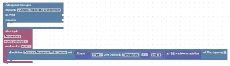 Offset für Temperatur Sensor definieren, z.B. Xiaomi Aqara Temperatur Sensor