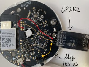 Xiaomi Mija Hub mit UART-Adapter verbinden