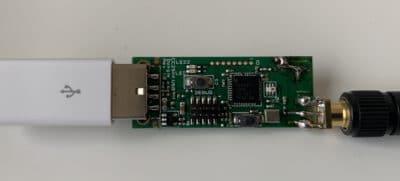 CC2531 mit externer 2,4 GHz Antenne