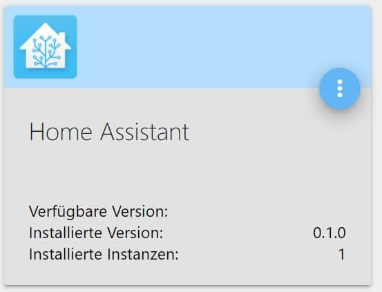 ioBroker Home Assistant Adapter installieren