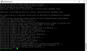 deCONZ auf raspberry PI installieren