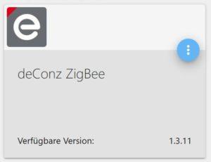 deCONZ ioBroker Adapter