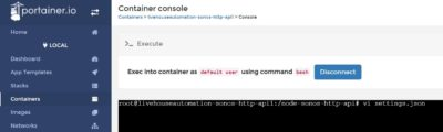 Sonos HTTP API settings webhook ioBroker