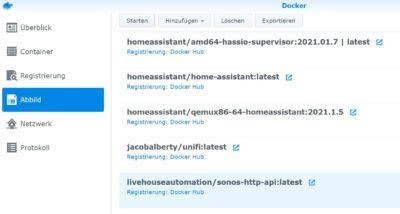 Docker Image Sonos HTTP API starten