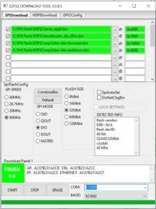 ESP32 Downloadtool für OpenMQTTGateway