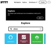 Alexa Integration in IFTTT aktivieren