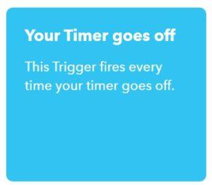 Applet in IFTTT anlegen, Alexa Trigger auswählen