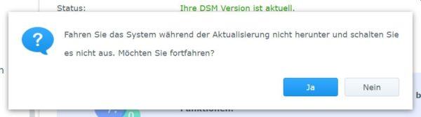 DSM 7 Installation Schritt 3