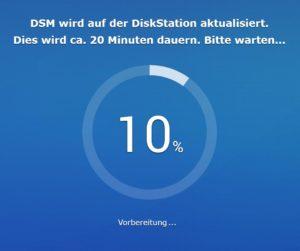 DSM 7 Installation Schritt 4