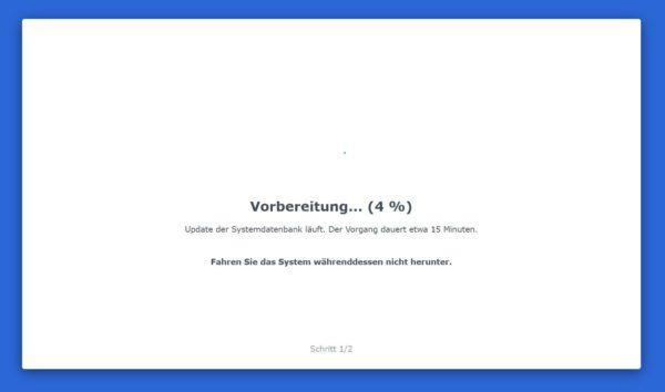 DSM 7 Installation Schritt 5